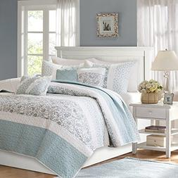 Madison Park MP13-2801 Dawn 6 Piece Cotton Percale Quilted C