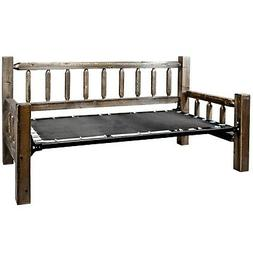 Amish Made Day Beds Farmhouse Solid Pine Wood Daybeds Rustic
