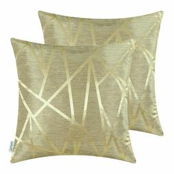 CaliTime Pack of 2 Throw Pillow Covers Cases Home Decor   18