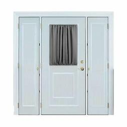 Deconovo Door Curtains Thermal Insulated Blackout Curtain Do