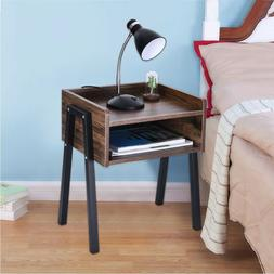 End Tables Nightstand Sofa Bed Chair Side Table Square Accen
