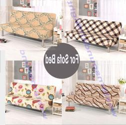 Floral Printed Removable Stretch Lounge Cover Sofa Bed Cover