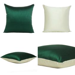 green off white cover cushion both pillow