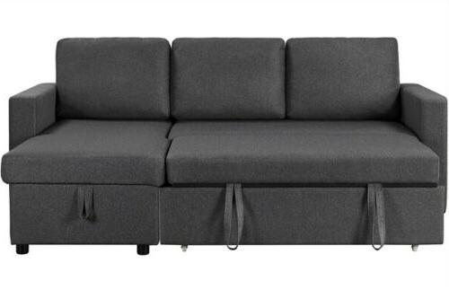4-seat Sofa Couch for Limite Spaces Gray