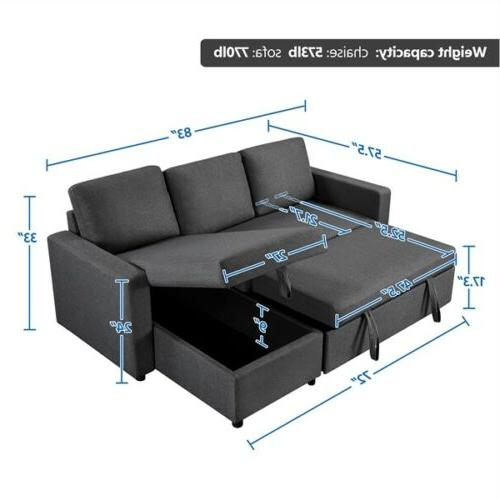 4-seat Sofa Couch Limite Spaces
