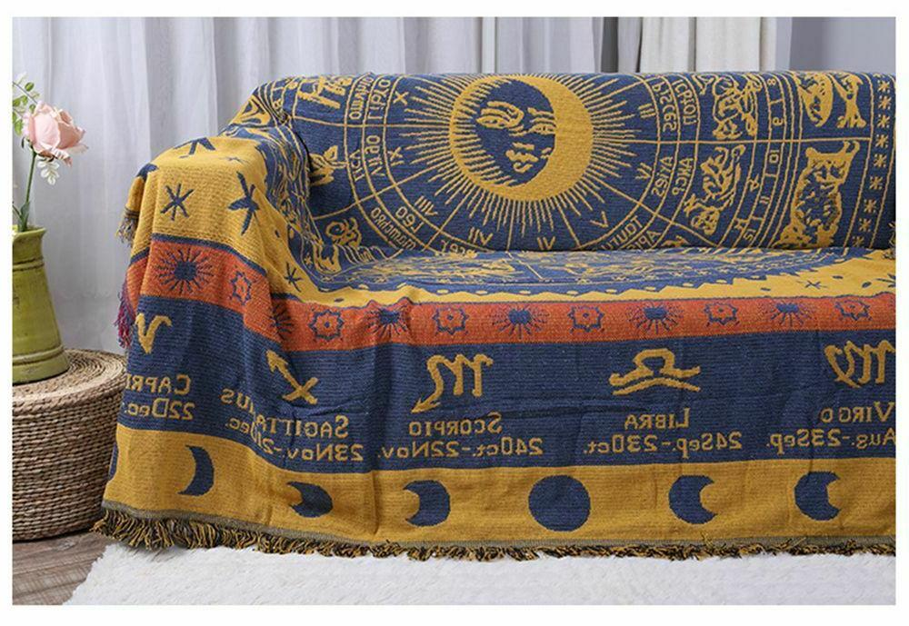 Bohemian Cotton Knitted Sofa For Beds