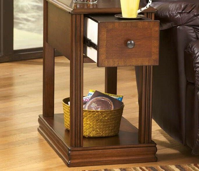 Signature Design By Ashley Breegin Brown End Table with Remo