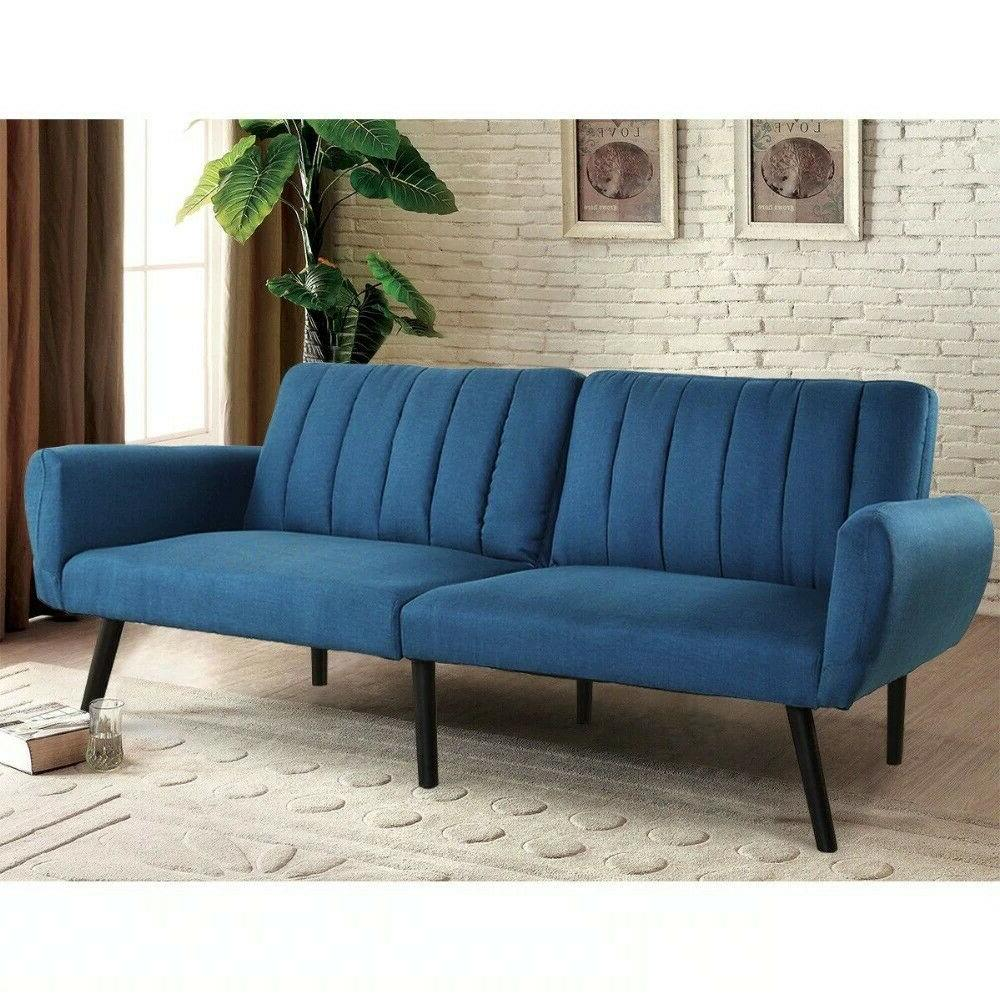 convertible sofa couch futon bed sleeper