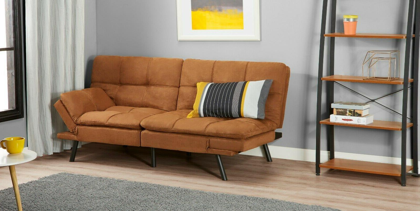 Memory Sofa Bed Couch Sleeper Foldable Loveseat Size