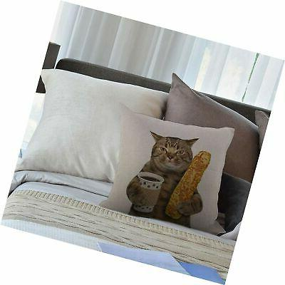 HGOD DESIGNS Throw Pillow Cover,The is Holding A of C...