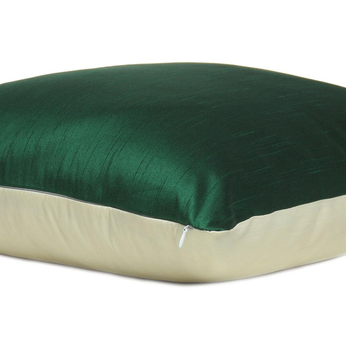 Green Off White Cover Cushion