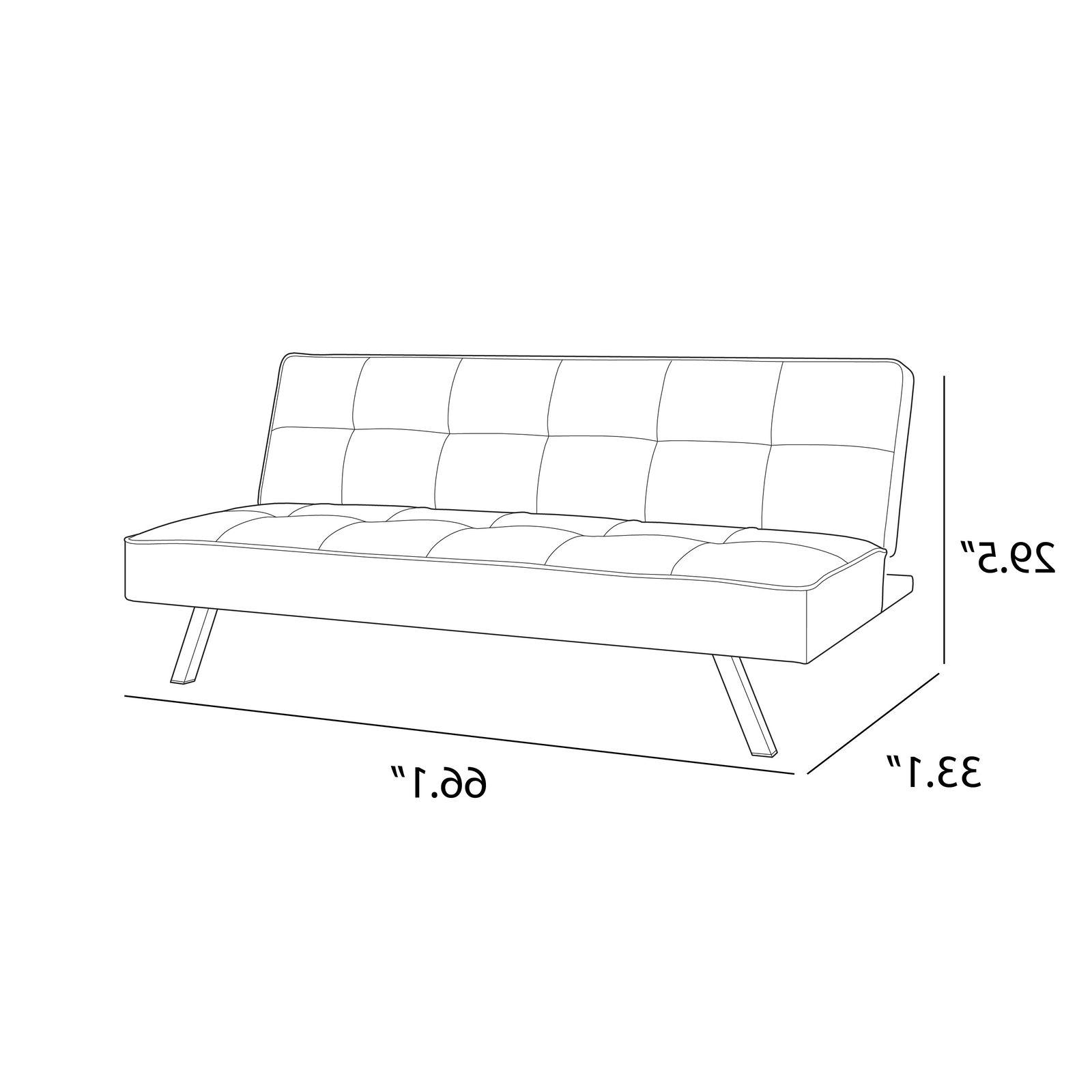 CONVERTIBLE Futon Couch Loveseat Chaises Furniture