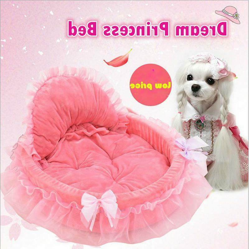 Sofa For Pink Lace Puppy House Purple Warm