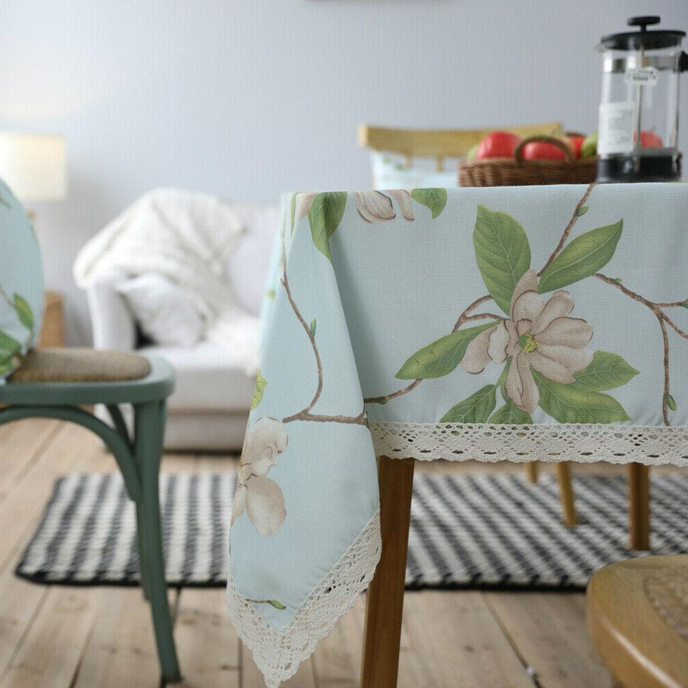 Sofa Bed Flower Covers Tablecloth Decor