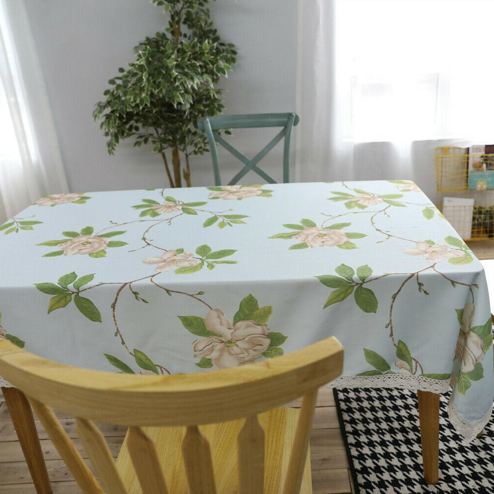 Sofa Bed Flower Covers Kitchen Dining Tablecloth
