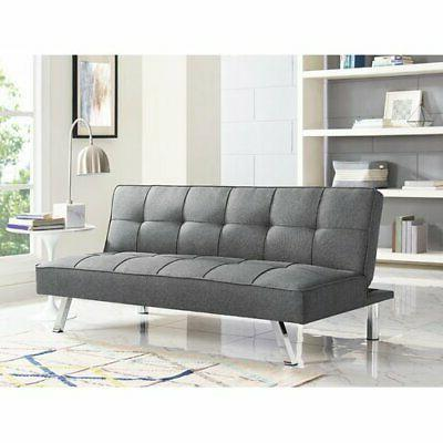Sofa Futon Convertible Bed Couch  Living Room Dorm Modern Se