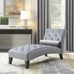 Living Room Button Tufted Leisure Furniture Chair Chaise Lou