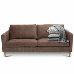 Love Seat Living Room Couch Sofa Fabric Comfort Upholstered