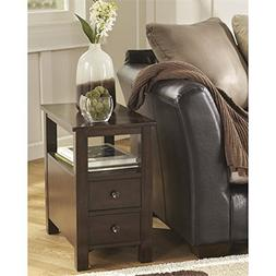Marion Chair Side End Table Dark Brown - Signature Design by