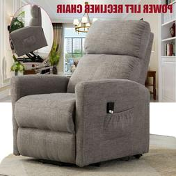 PUSH BACK RECLINER CHAIR SOFA LIVING ROOM PADDED FURNITURE T