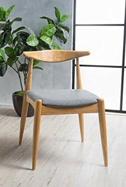 Stylish Wood Chair . Christopher Knight Home. Brand New. Gra