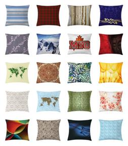 Ambesonne Throw Pillow Cover Cushion Case for Couch & Bed De