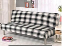 Very Thick Plush Floral Removable Stretch Lounge Covers Sofa